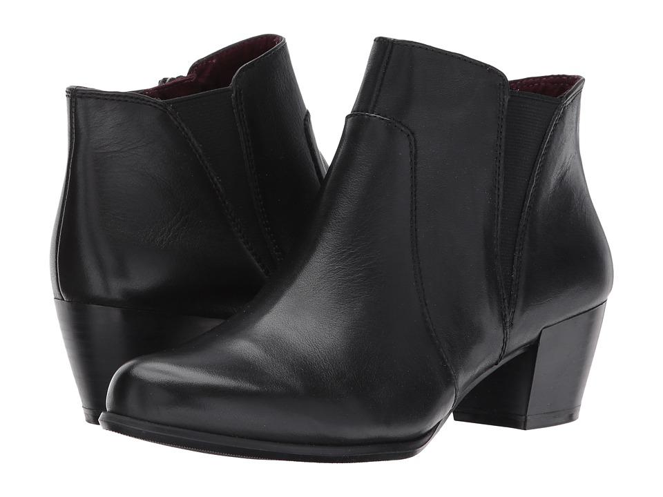 Tamaris Ocimum 1-1-25353-29 (Black Leather) Women
