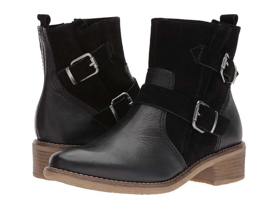 Tamaris Joudy 1-1-25374-29 (Black Leather) Women