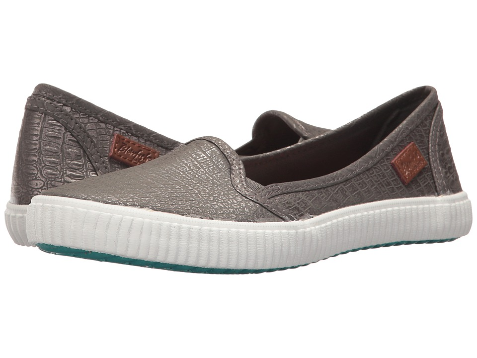 Blowfish Soba (Pewter Croc Microsuede PU) Women