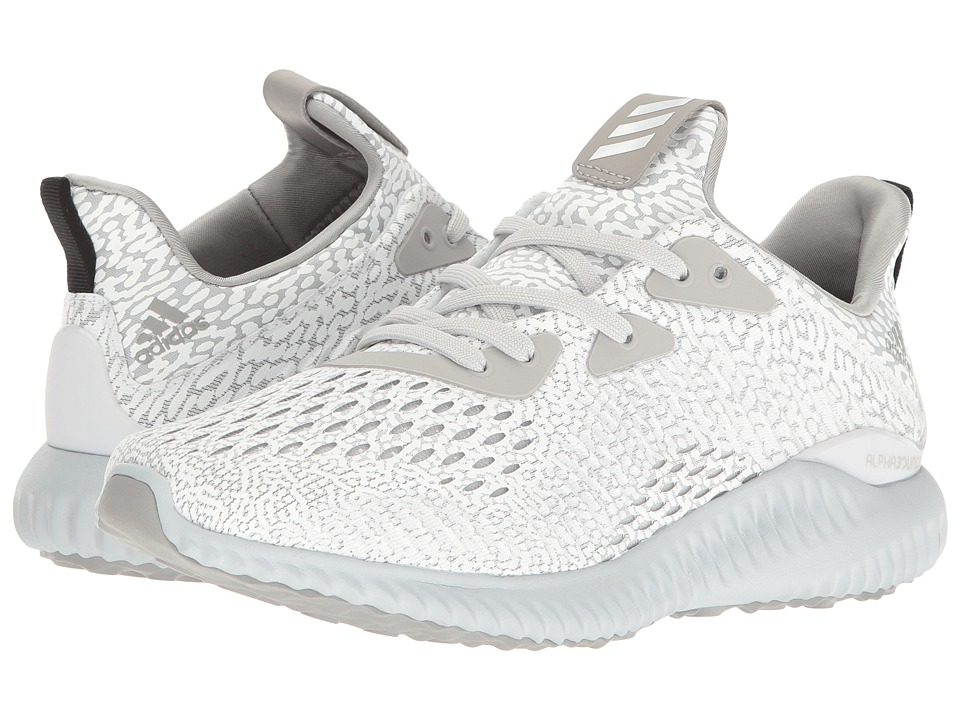 adidas Kids Alphabounce (Big Kid) (Clear Grey) Kids Shoes