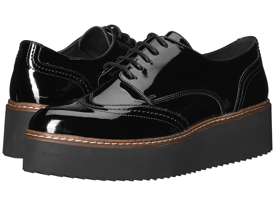 Shellys London Tommy Platform Oxford (Black) Women