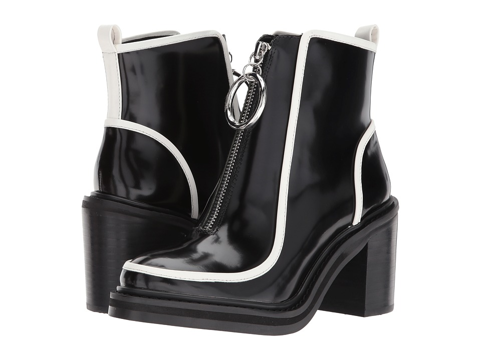 Vintage Style Shoes, Vintage Inspired Shoes Shellys London - Freya bootie Black Womens Shoes $189.00 AT vintagedancer.com