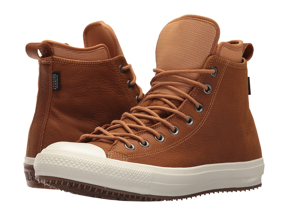 Converse Chuck Taylor(r) All Star(r) Waterproof Boot Nubuck Hi (Raw Sugar/Egret/Gum) Men