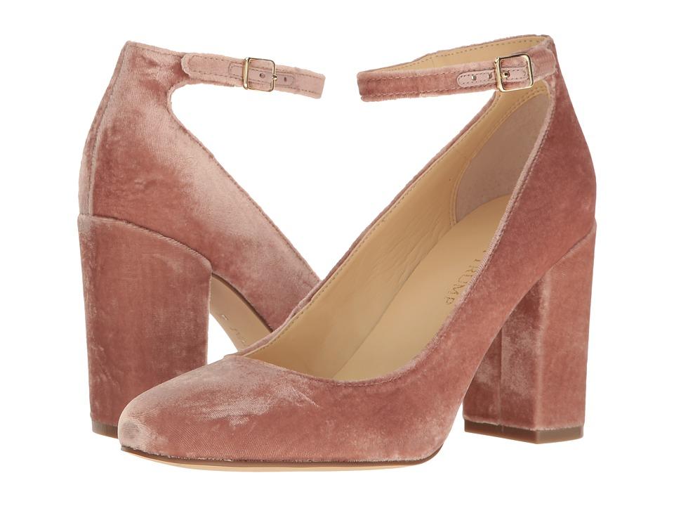 Ivanka Trump Oasia 2 (Light Pink Fabric/Smart Velvet Sarga Backing) High Heels