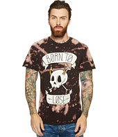 Depressed Monsters - Born to Lose Reverse Tie-Dye Splatter Premium Tee