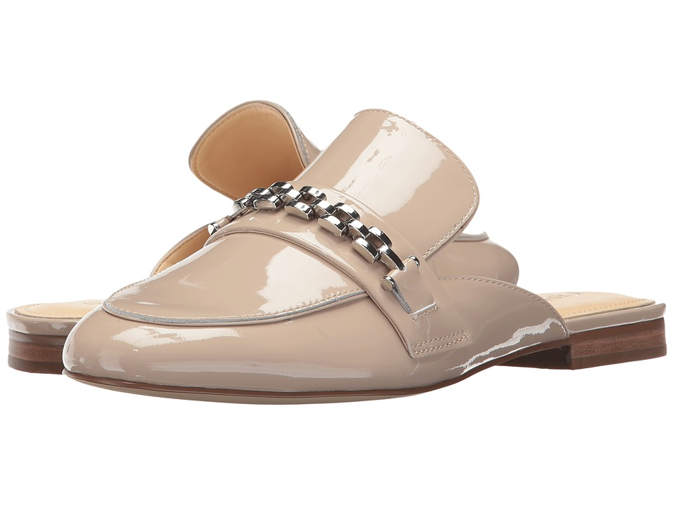 Ivanka Trump - Warda (Light Natural New Patent Leather) Womens Slip on  Shoes