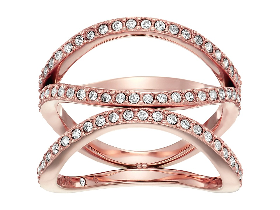 Michael Kors Wonderlust Open Ring (Rose Gold) Ring