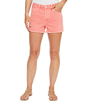 J Brand - Gracie High-Rise Shorts w/ Raw Hem in Glowing Blossom