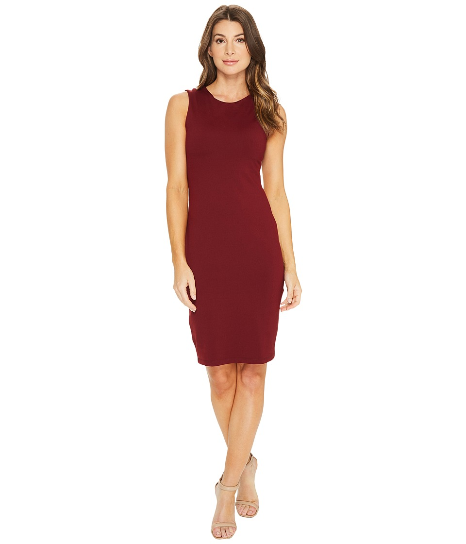 Susana Monaco Scarlett Dress (Oxblood) Women