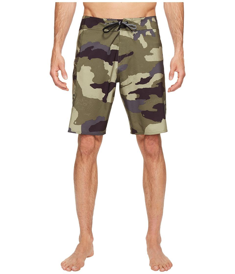 Volcom Lido Solid Mod 20 Boardshorts (Camouflage) Men