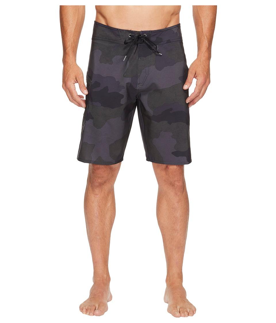 Volcom Lido Solid Mod 20 Boardshorts (Blackout) Men