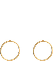 Steve Madden - Large Ring Post Earrings