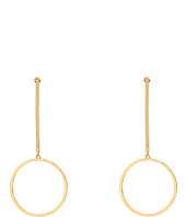 Steve Madden - Bar with Ring Post Earrings