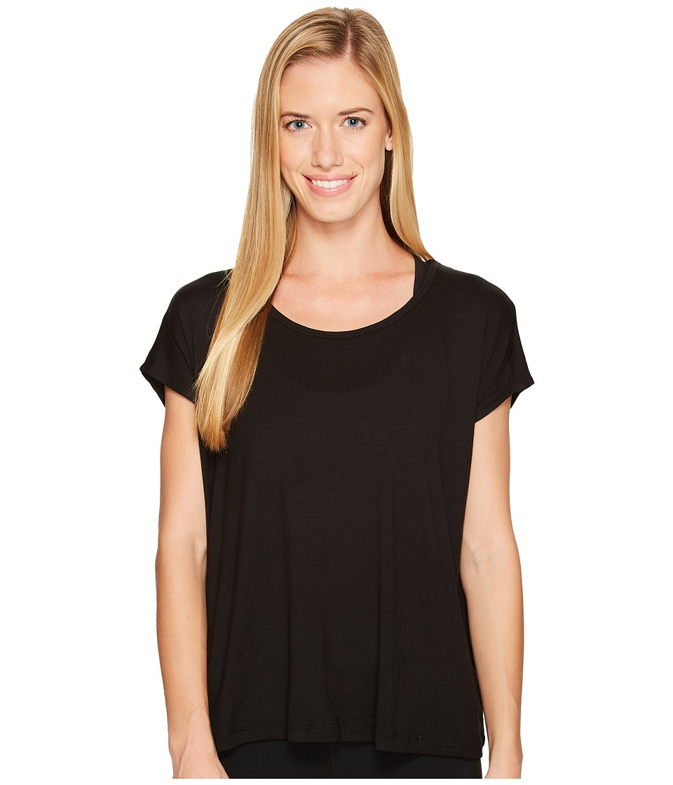 Beyond Yoga Back Out Tee (Black) Women