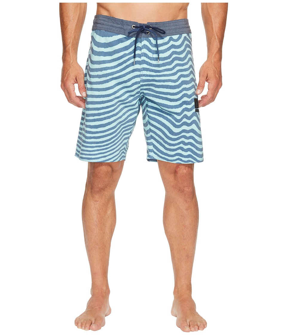 Volcom Mag Vibes Slinger 19 Boardshorts (Smokey Blue) Men