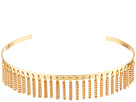 Steve Madden - Open Collar with Chain Fringe Choker Necklace