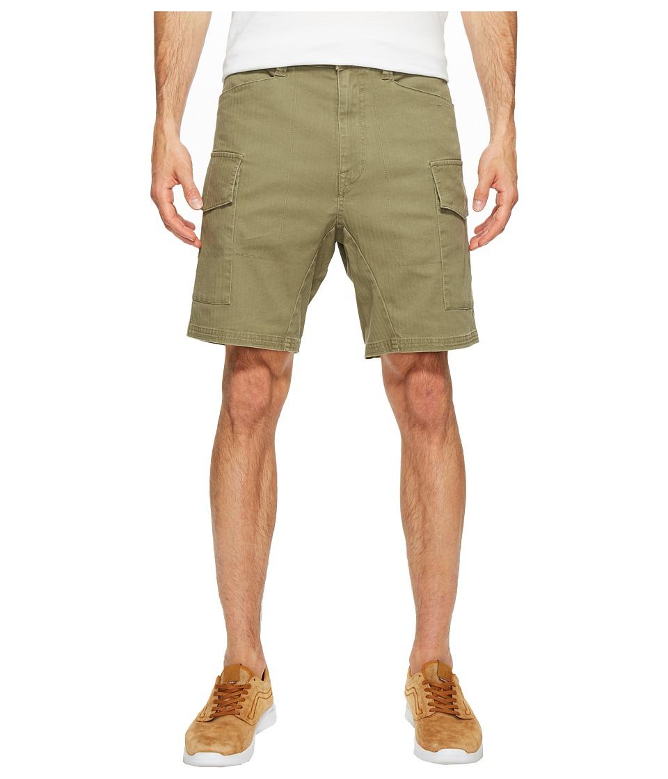 Volcom Base Cargo Shorts (Light Army) Men