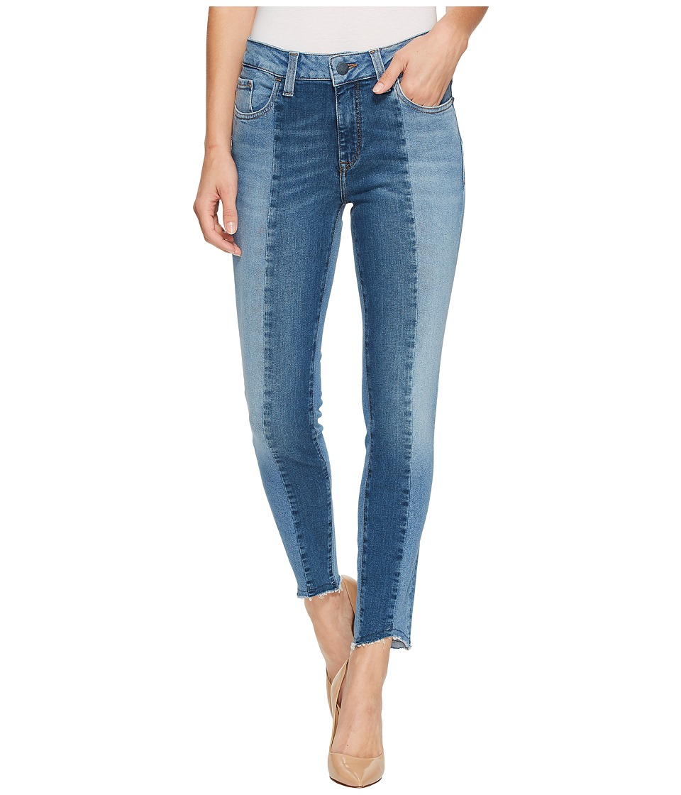 Mavi Jeans Tess High-Rise Super Skinny Ankle in Mid Shaded Blocking Gold Icon (Mid Shaded Blocking Gold Icon) Women