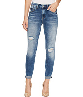 Mavi Jeans - Tess High-Rise Super Skinny Ankle in Mid Indigo Vintage