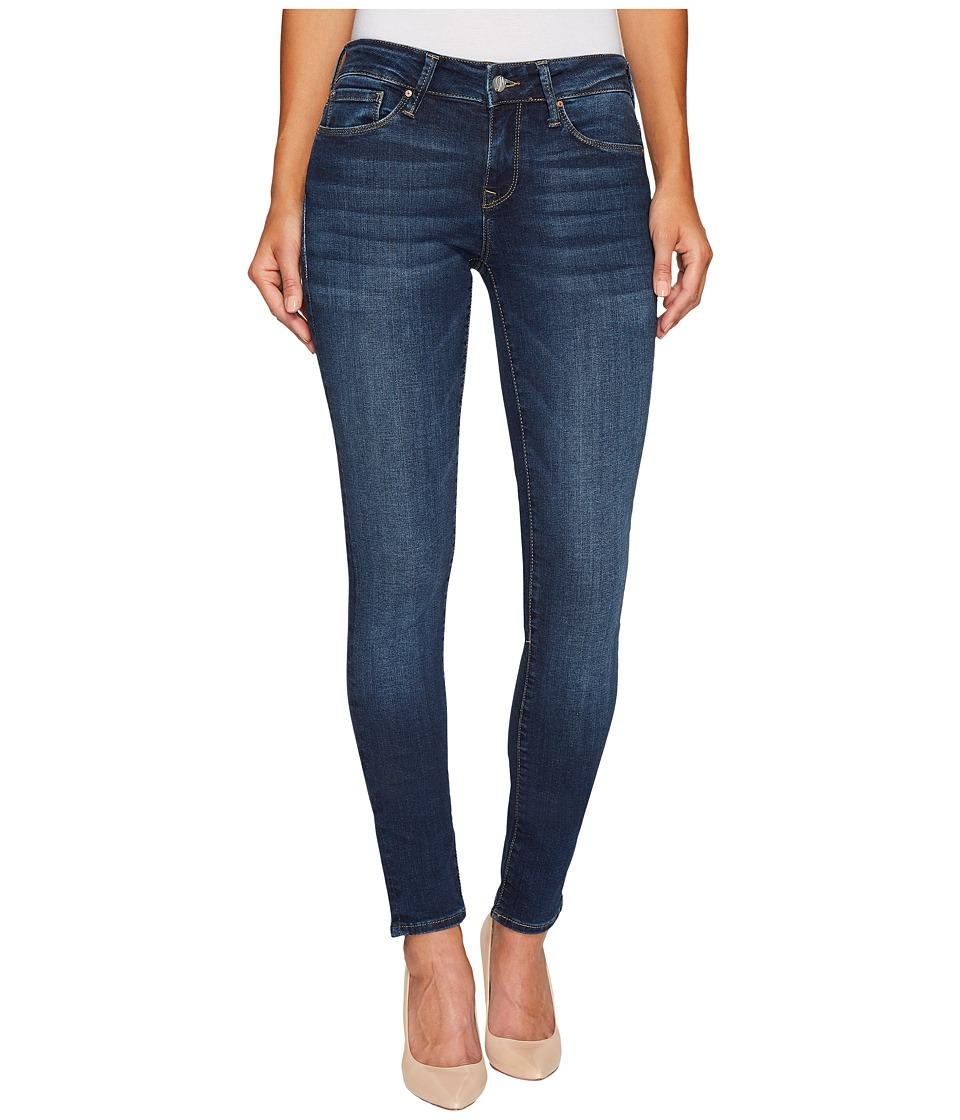 Mavi Jeans - Alexa Mid-Rise Skinny in Deep Blue Tribeca (Deep Blue Tribeca) Women's Jeans