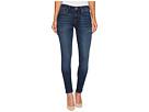 Mavi Jeans Alexa Mid-Rise Skinny in Deep Blue Tribeca
