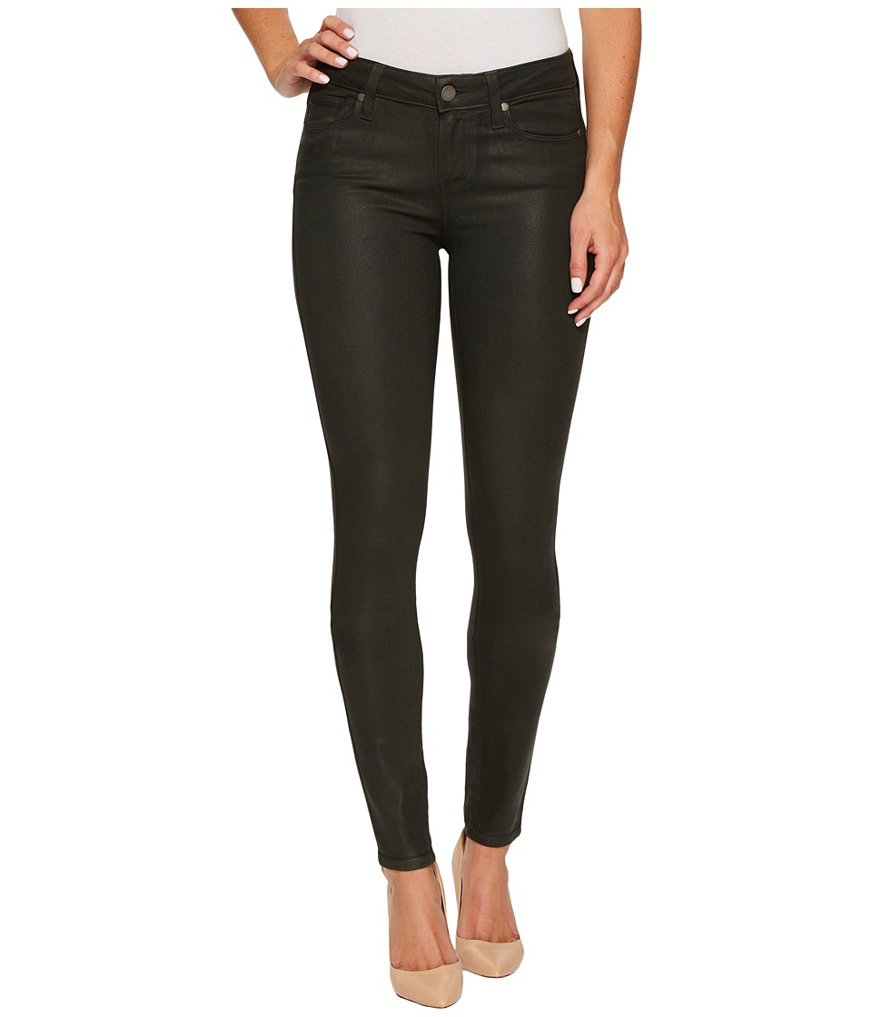 Paige Verdugo Ultra Skinny in Deep Juniper Luxe Coating (Deep Juniper Luxe Coating) Women