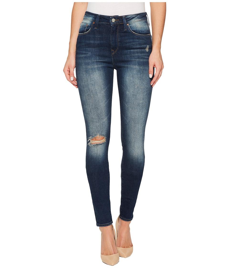 Mavi Jeans Lucy High-Rise Super Skinny in Ocean Blue Vintage (Ocean Blue Vintage) Women
