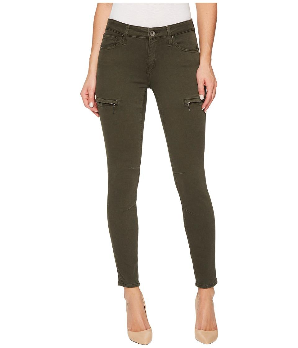 Mavi Jeans Karlina Mid-Rise Skinny Ankle in Military Twill (Military Twill) Women
