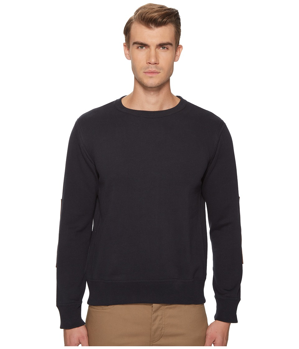 Billy Reid - Dover Sweatshirt (Dark Midnight) Mens Sweater