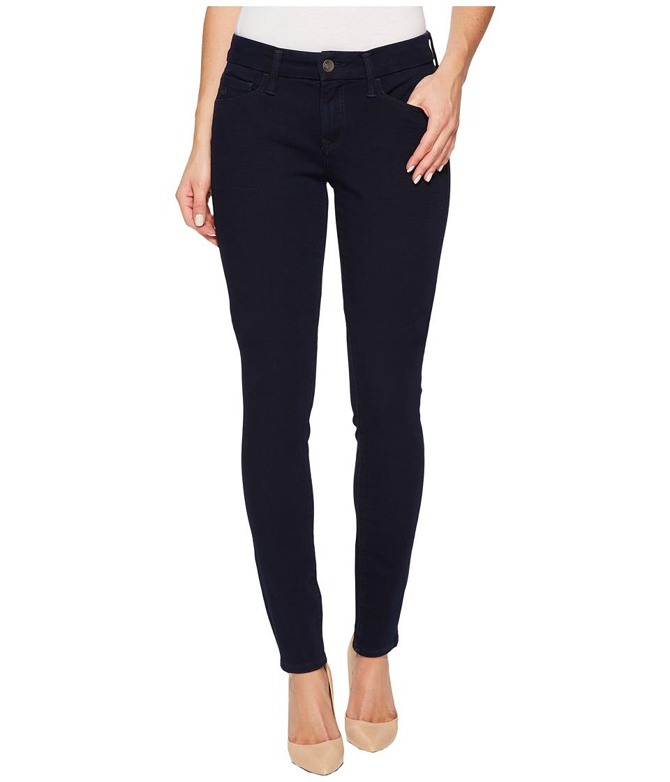 Mavi Jeans Alexa Mid-Rise Skinny in Deep Bi-Stretch (Deep Bi-Stretch) Women