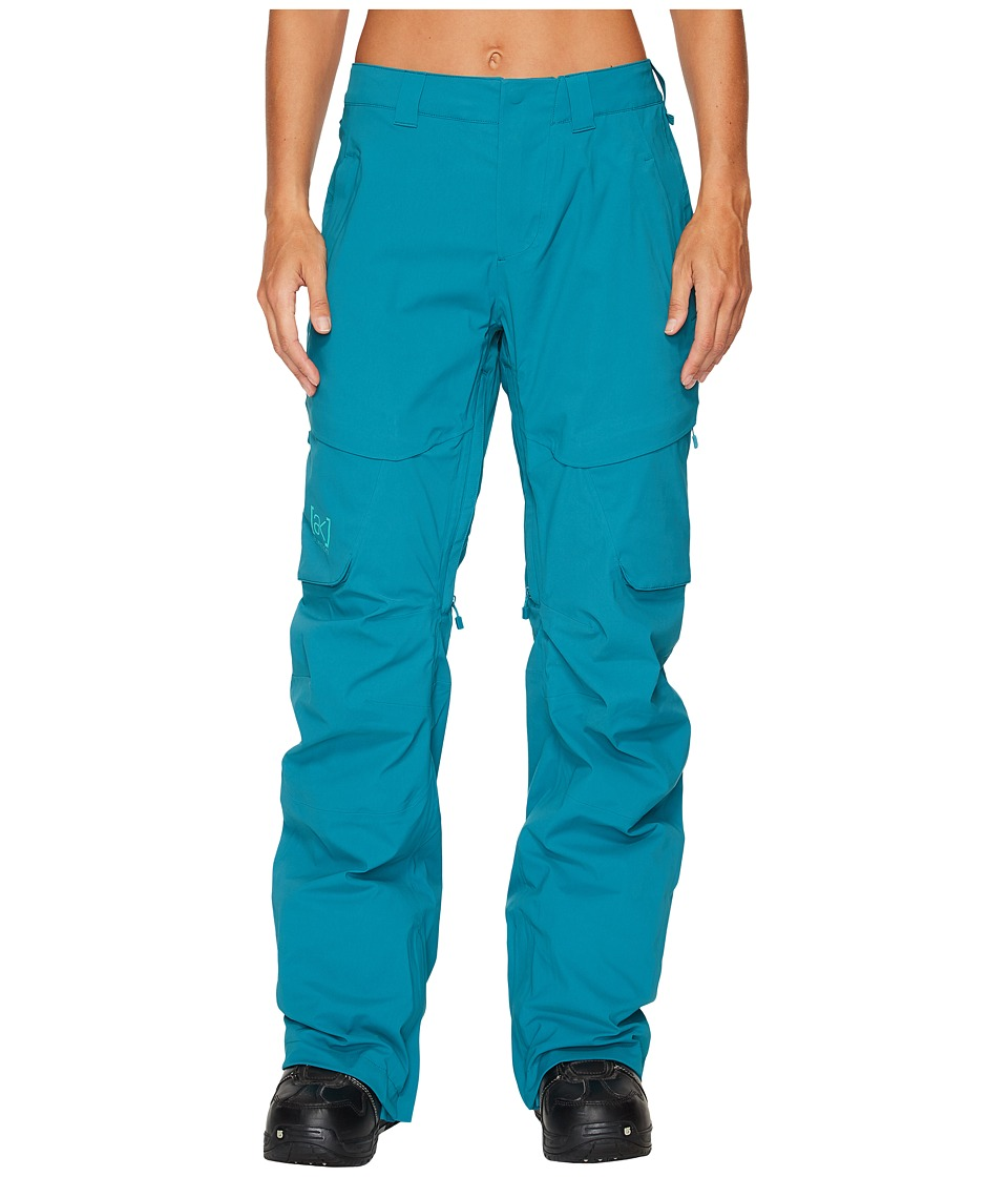 Burton ak] 2L Summit Pant (Harbor) Women's Casual Pants