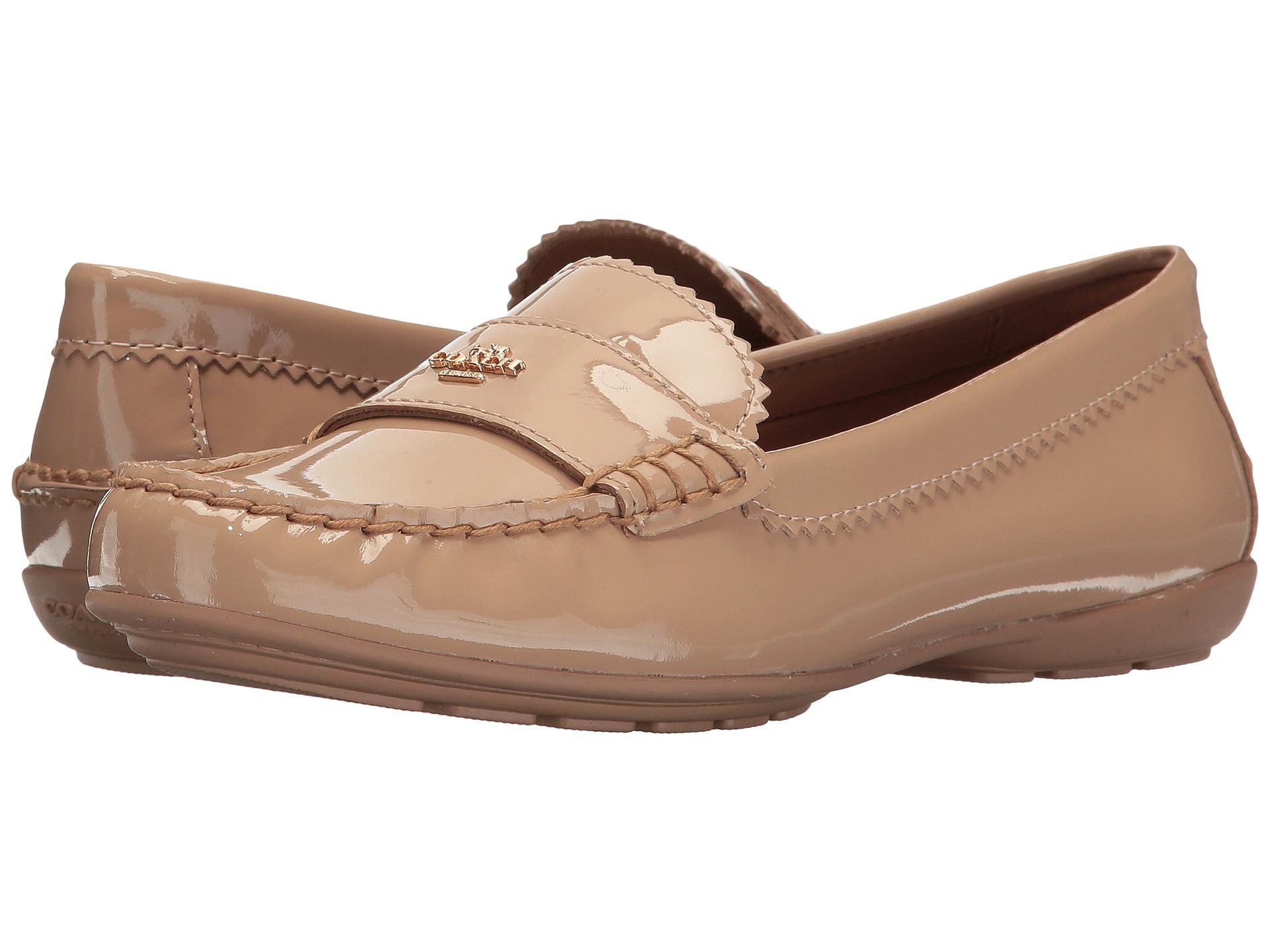 코치 오데뜨 로퍼 웜블러쉬 페턴트 COACH Odette Loafer Warm Blush Patent