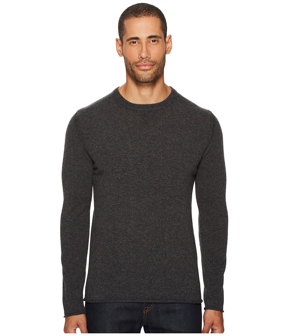 Billy Reid - Cashmere Crew Sweater (Charcoal) Mens Sweater