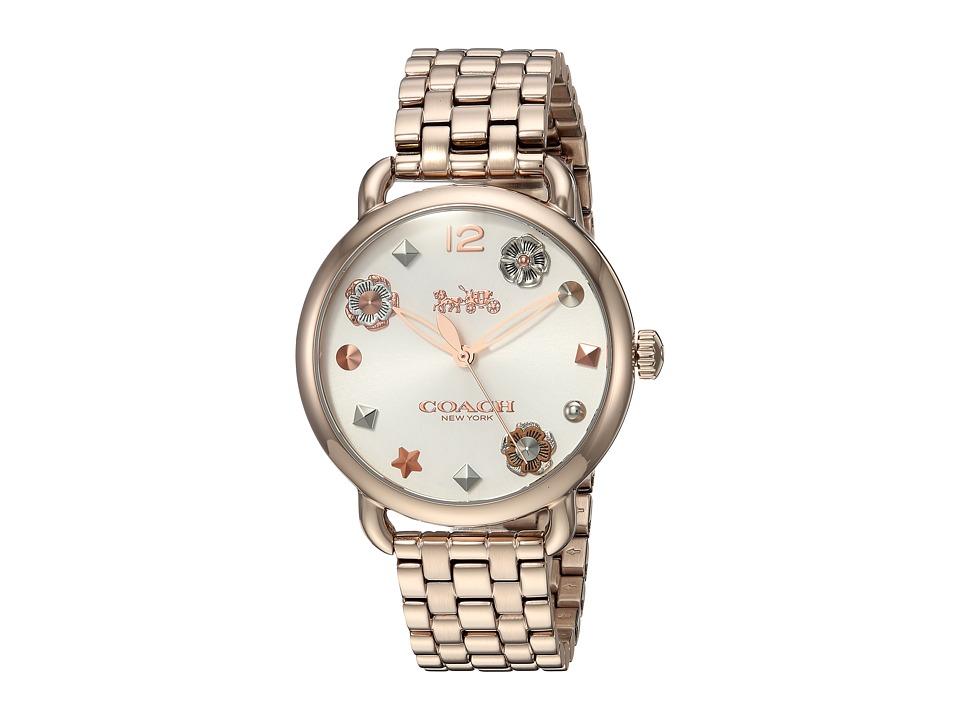 COACH - Delancey - 14502811 (Carnation Rose Gold) Watches