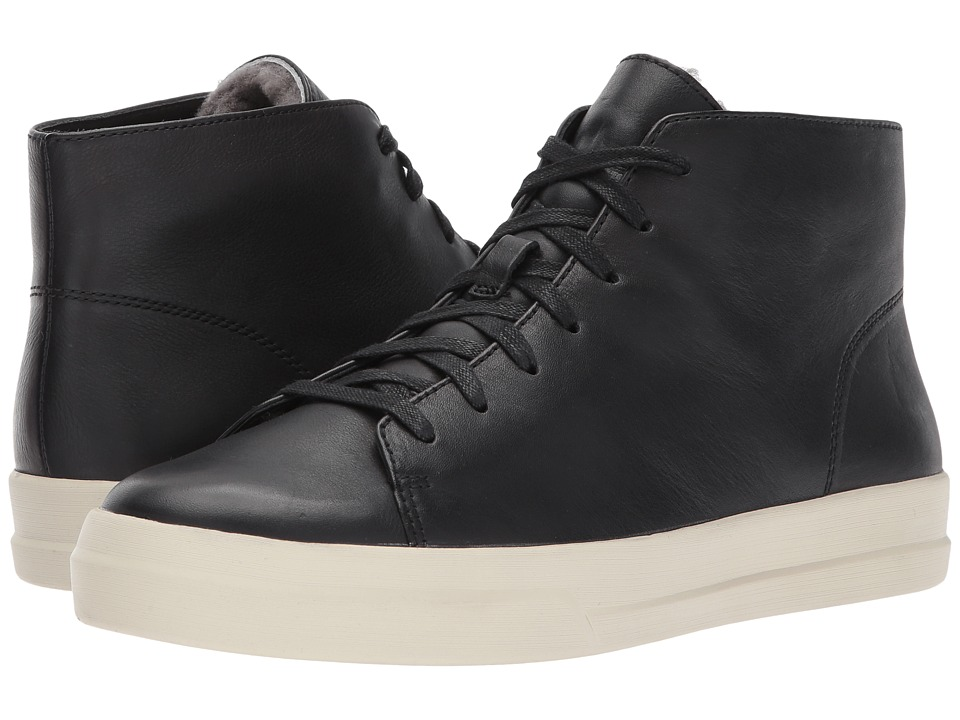 Vince Cullen-2 (Black w/ Shearling) Men's Shoes