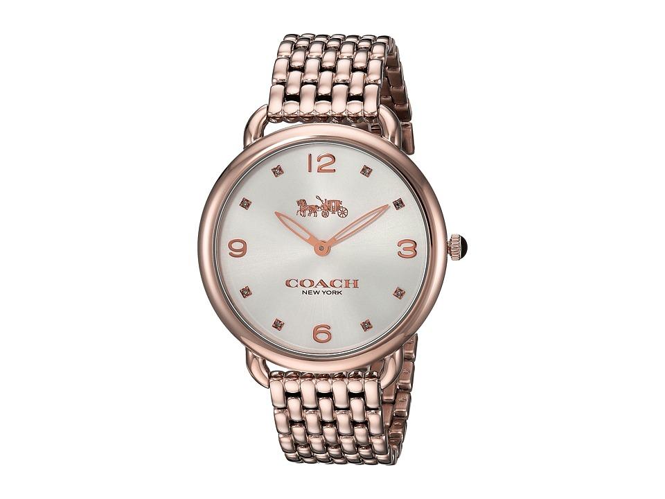 COACH - Delancey Slim - 14502787 (Rose Gold) Watches