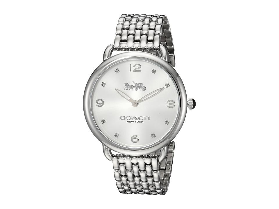 COACH - Delancey Slim - 14502785 (Silver) Watches