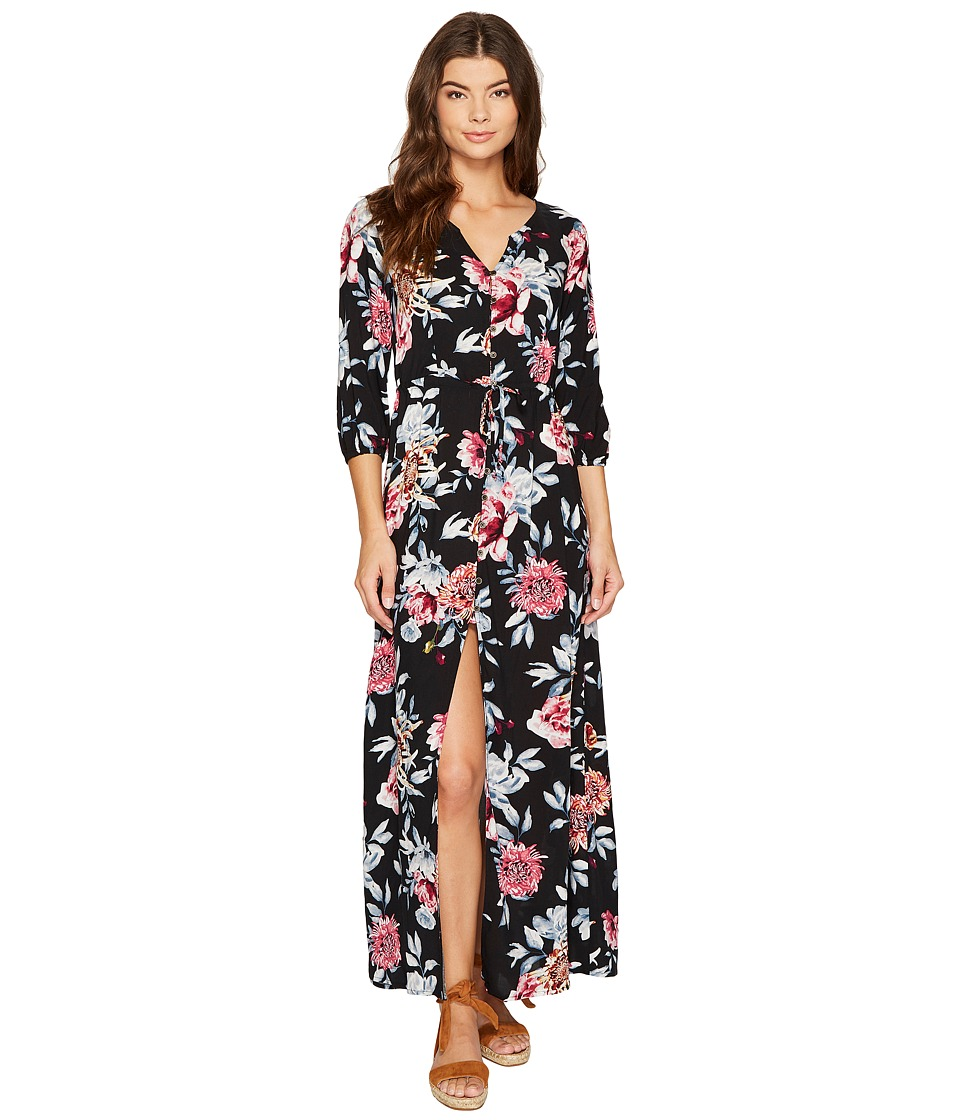 Rip Curl Wildflower Maxi Dress (Black) Women