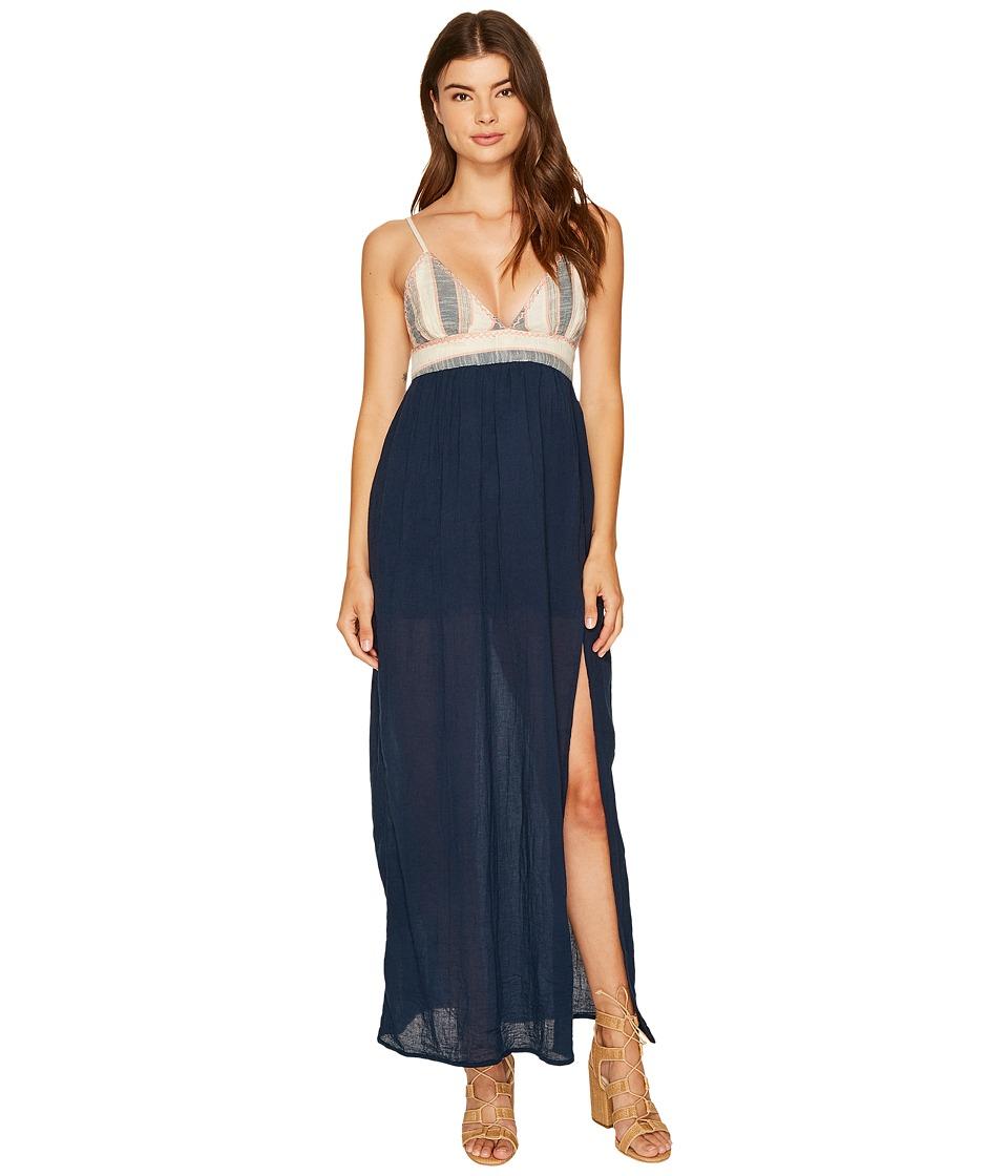 Rip Curl Beach Comber Maxi Dress (Navy) Women