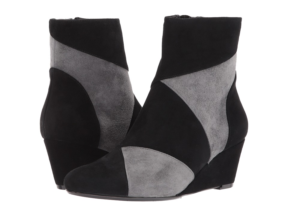 Vaneli Tate (Black Suede/Grey Suede) Women
