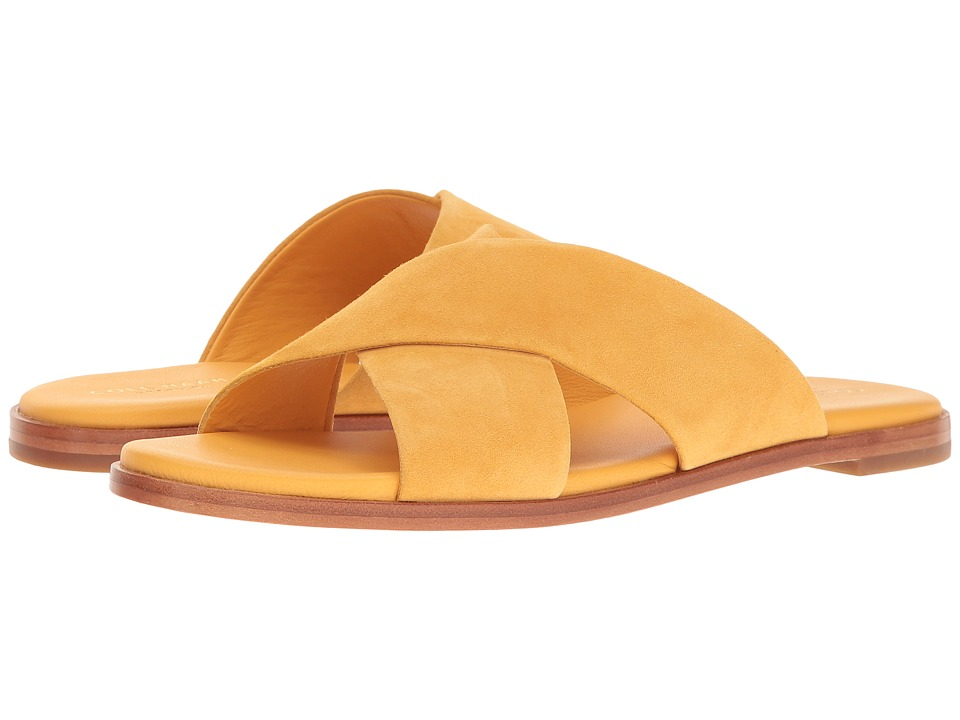 Cole Haan Anica Crisscross Sandal (Sunglow Suede) Women