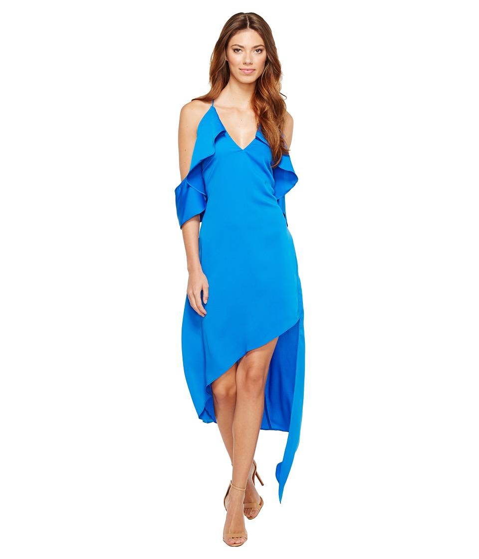 Adelyn Rae Oliana Woven Slip Dress (Pacific Blue) Women