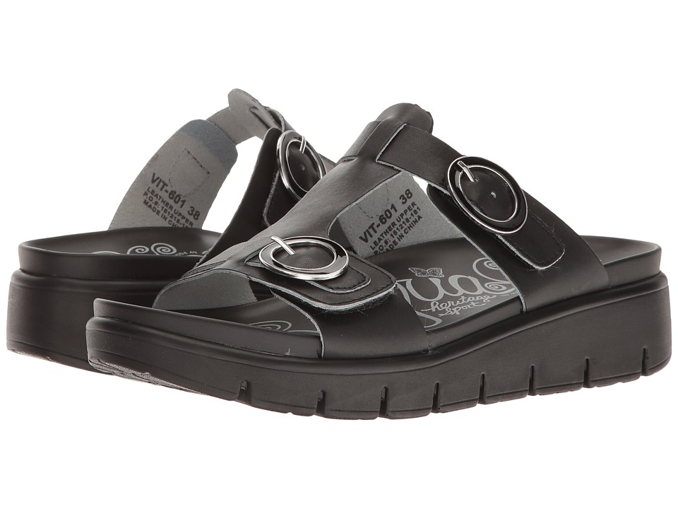 Alegria - Vita (Black Nappa) Womens  Shoes