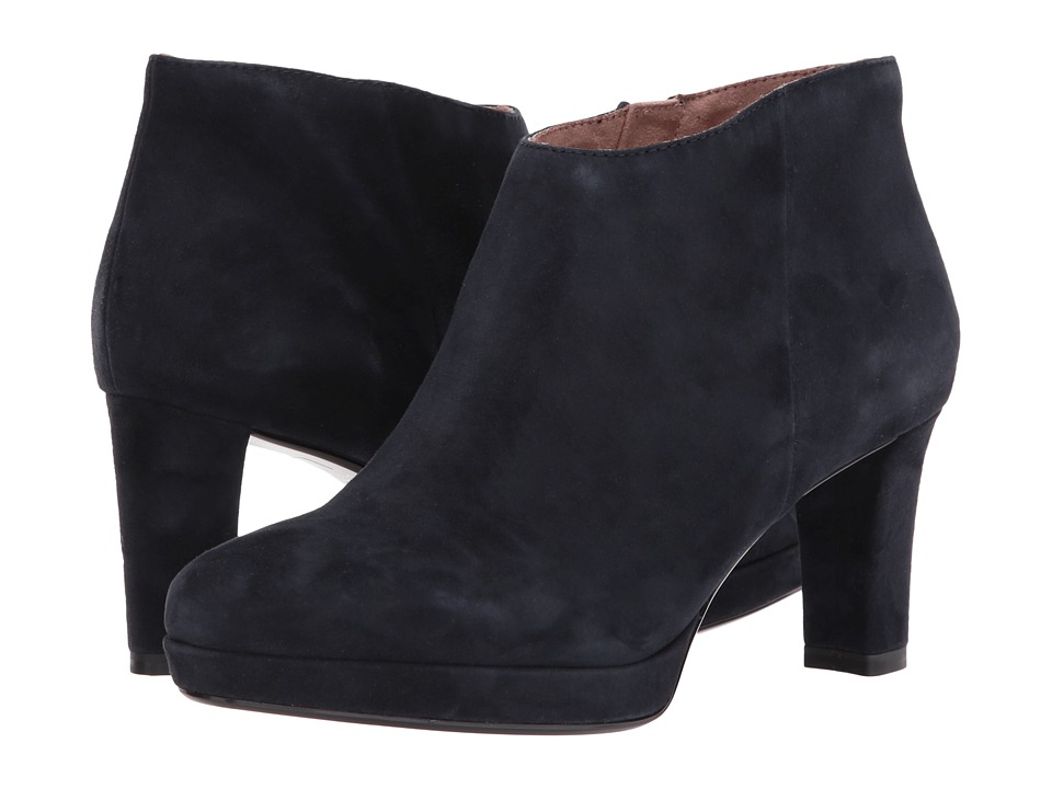 Tamaris Charline 1-1-25302-29 (Navy Suede) High Heels