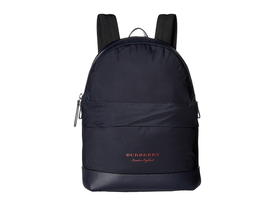 Burberry Kids Nico Backpack (Ink) Backpack Bags