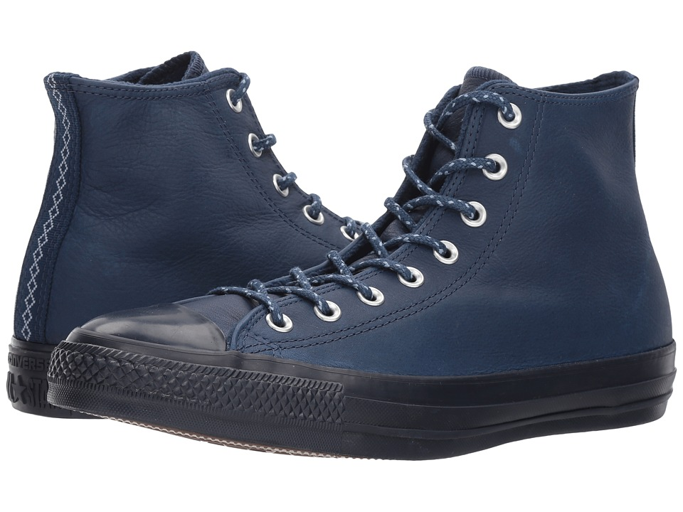 Converse Chuck Taylor(r) All Star(r) Leather w/ Thermal Hi (Midnight Navy/Blue Slate/Inked) Classic Shoes