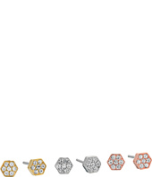 Michael Kors - Polished Platings Nugget Pavé Stud Earrings Set