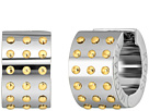 Michael Kors - Micro Muse Two-Tone Microstud Huggie Earrings