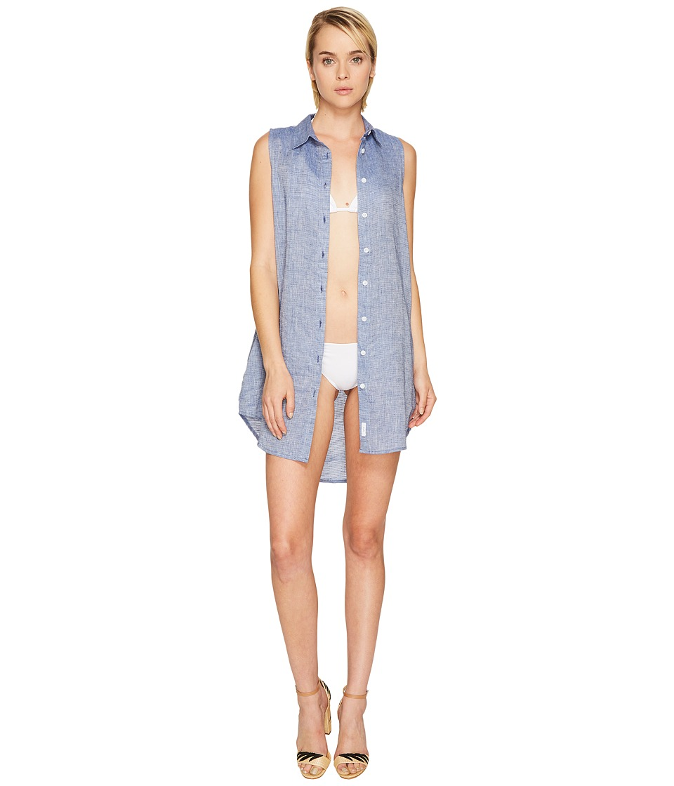 onia Kaylee Cover-Up (Denim) Women