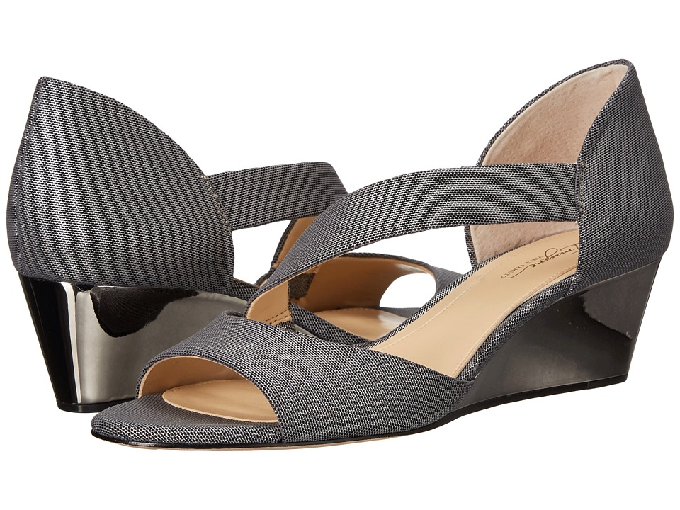 Imagine Vince Camuto Jefre (Anthracite Metallic Shimmer Fabric) Women